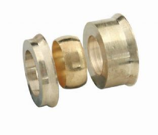 15mm x 10mm compression fitting Reducing set - 3 piece (Bag of 10=£7.56)